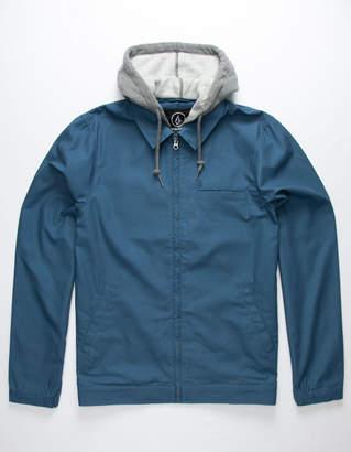 Volcom Warren Blue Mens Jacket