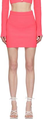 Helmut Lang Pink Essential Miniskirt