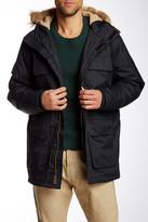 Hawke & Co Faux Fur Hood Four Pocket Snorkel Jacket