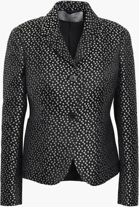 Valentino Floral-print Silk-jacquard Blazer