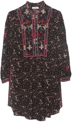Etoile Isabel Marant Imalou Dress in Black