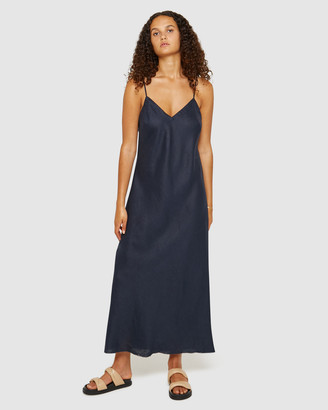 Jag Easy Linen Slip Dress