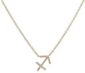 Adina's Jewels Adinas Jewels Pave Sagittarius Pendant Necklace, 16-18