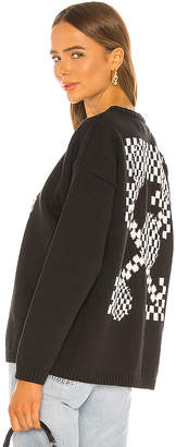 Off-White Off White Bubble Arrow Knit Sweater