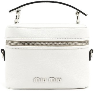 Miu Miu Zipped Bucket Crossbody Bag