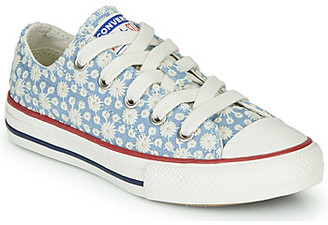 Converse CHUCK TAYLOR ALL STAR LITTLE MISS CHUCK girls's Shoes (High-top Trainers) in Blue