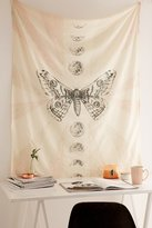 Urban Outfitters Moth Moon Embroidered Tapestry