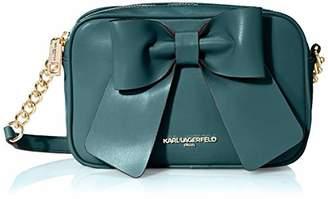 Karl Lagerfeld Paris Kris FARA PU Bow Crossbody