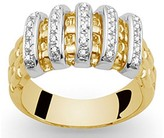 Fope Lavonia 18ct gold diamond ring