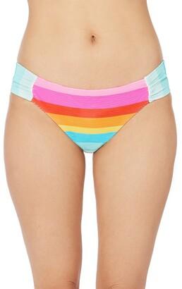 Trina Turk Sunrise Stripe Hipster Bikini Bottoms