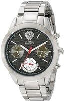 Vince Camuto Women's VC/5243BKSV Multi-Function Black Dial Silver-Tone Bracelet Watch