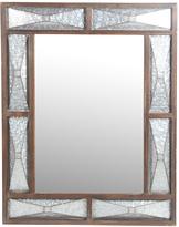 Privilege Rectangle Galvanized Metal Panel Wall Mirror