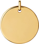 Links of London Narrative 18ct yellow-gold large round pendant