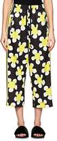 Marc Jacobs Women's Daisy-Print Jersey Crop Track Pants