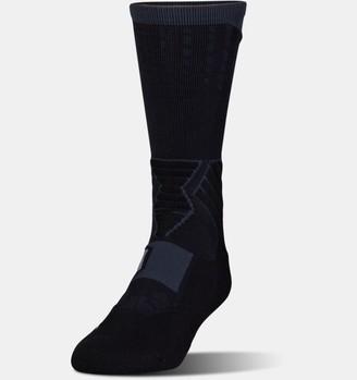 Under Armour Men's UA Basketball Drive Crew Socks
