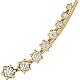 Sara Weinstock Women's White Diamond & Gold Ear Cuff