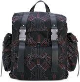 Valentino Garavani Valentino Love Blade backpack - men - Leather/Polyester - One Size