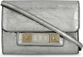 Proenza Schouler PS11 metallic leather wallet-on-chain