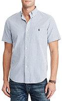 Polo Ralph Lauren Standard-Fit Checked Seersucker Short-Sleeve Woven Shirt