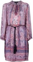 'Sofia' paisley print dress