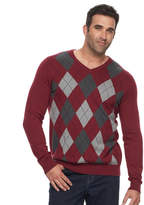 Croft & Barrow Big & Tall True Comfort Classic-Fit Easy-Care V-Neck Sweater