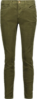 Current/Elliott The Stiletto cotton-blend corduroy skinny pants
