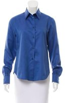 Loro Piana Long Sleeve Button-Up Top