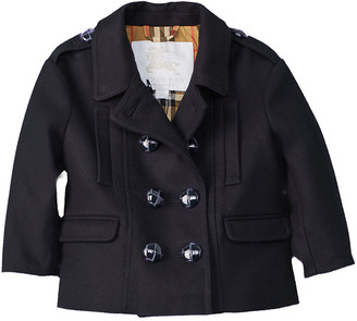 Burberry Mini Wilamina Wool Coat