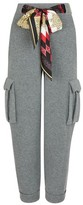 Alanui Wool-cashmere blend trousers