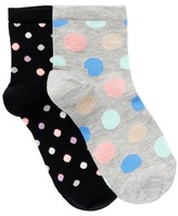 Happy Socks Fashion Anklet Length Socks - Pack of 2