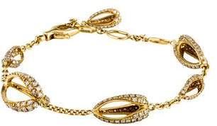 Di Modolo 18K Diamond Triadra Link Bracelet