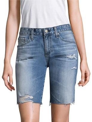 AG Jeans Nikki Relaxed Skinny Denim Shorts