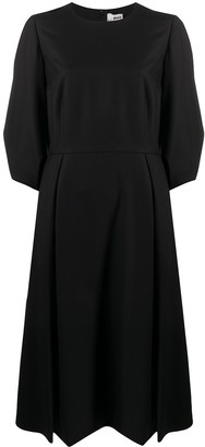 Comme des Garcons Balloon-Sleeve Dress