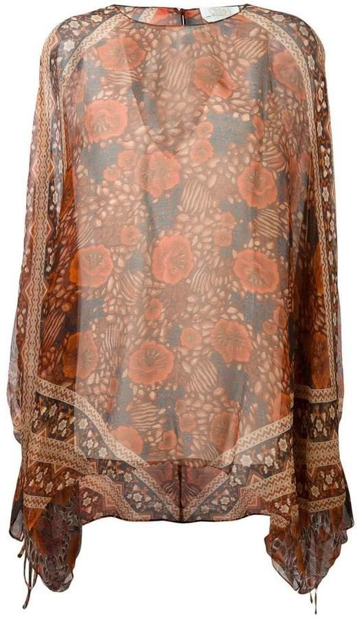 Chloé scarf print blouse