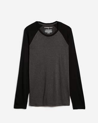 Express Long Sleeve Heat Thermal-Regulating Baseball T-Shirt