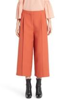 Fendi Women's Wool & Silk Crop Pants