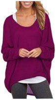 AuntTaylor Teen Girls Fashion Crochet Long Stretch Sweatshirts Top 3XL