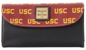 Dooney & Bourke Usc Trojans Saffiano Continental Clutch