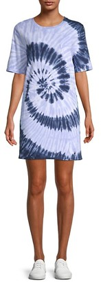 RD Style Tie-Dye T-Shirt Dress
