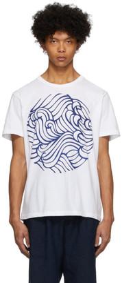 Blue Blue Japan White Wave T-Shirt