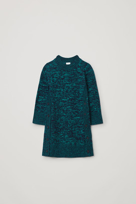 Cos Knitted Wool-Cashmere Dress