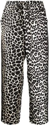 Pierre Louis Mascia Pierre-Louis Mascia Adanastr leopard-print silk trousers