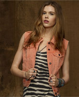 Denim & Supply Ralph Lauren Jacket, Denim Colored Vest