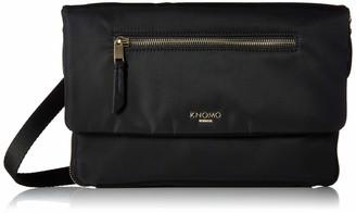 Knomo Mayfair Elektronista Digital Clutch Bag = Black