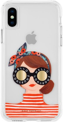 Case-Mate Gorgeous Girl iPhone X/Xs/Xs Max & XR case