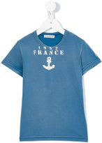 Moncler anchor print T-shirt - kids - Cotton - 6 yrs