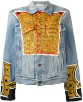 Faith Connexion printed denim jacket