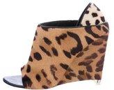 Alexander Wang Alla Leopard Wedges