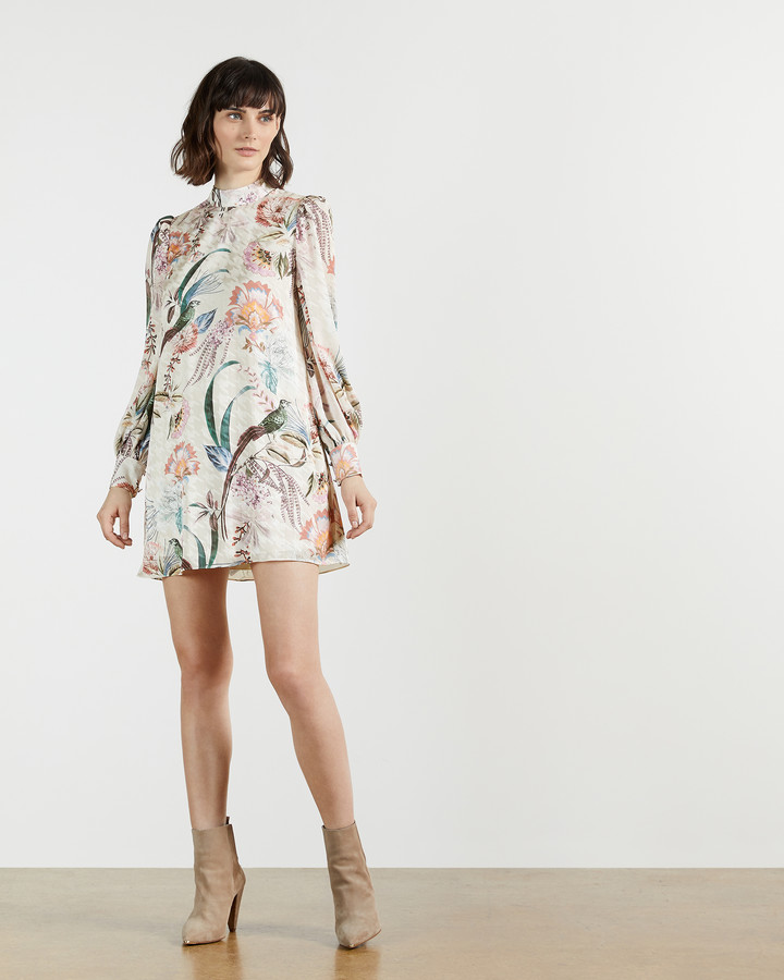 Thumbnail for your product : Ted Baker LILLIUM Decadence Shift Mini Dress