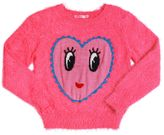 Billieblush Knitted Faux Fur Sweater